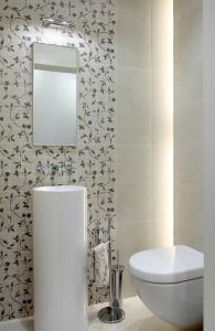 toaleta ladne plytki umywalka do malej lazienki klimatyczna lazienka plytki w kwiatki