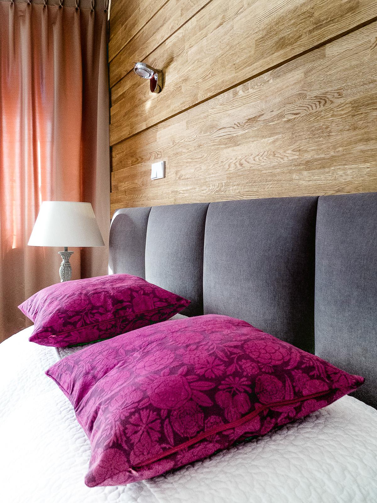 Apartament w Zakopanem. Sypialnia.