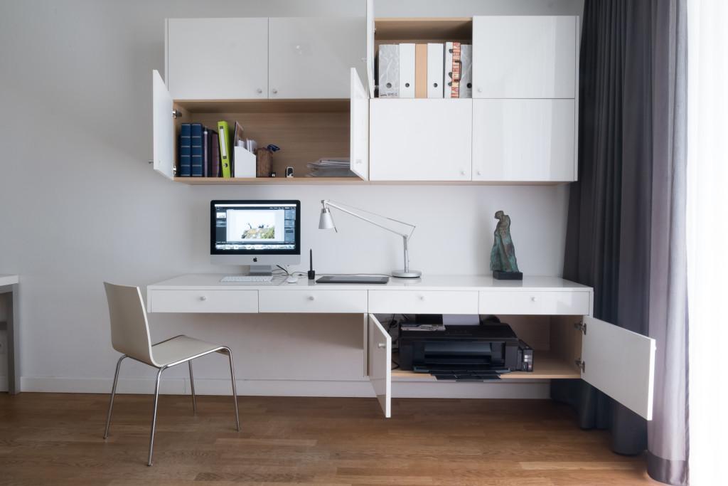 Mieszkanie na Żoliborzu - salon