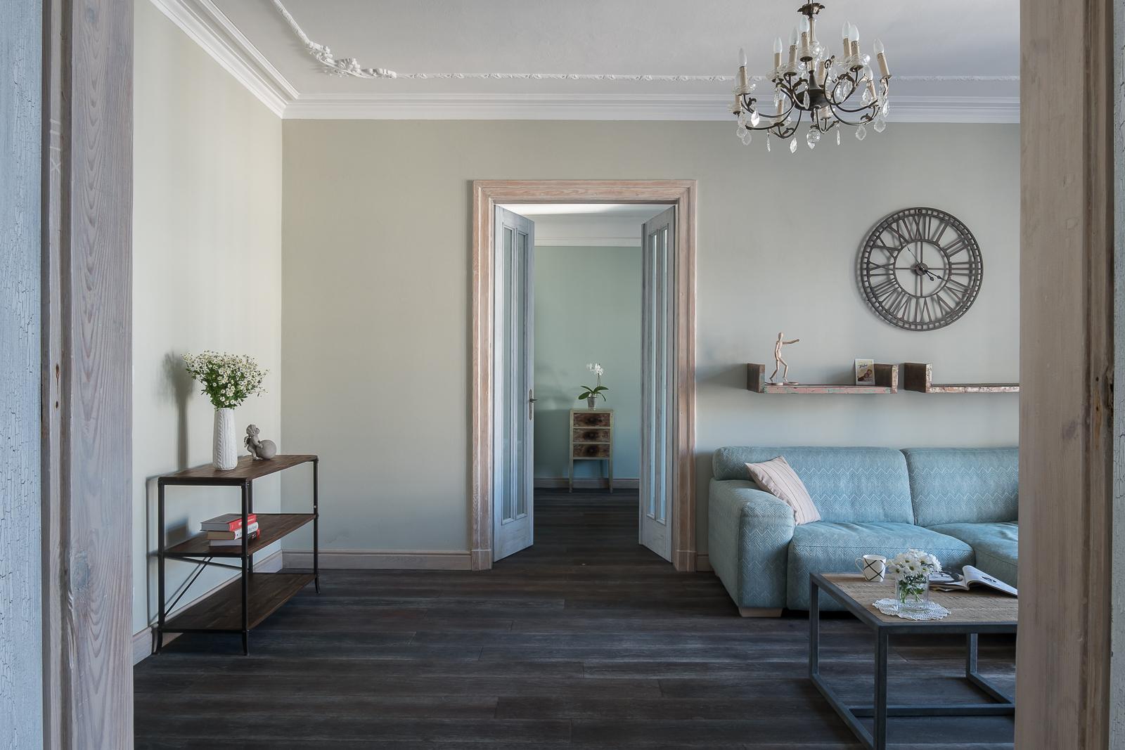 Projekt Jacek Tryc-wnętrza Apartament Warszawa Mokotów