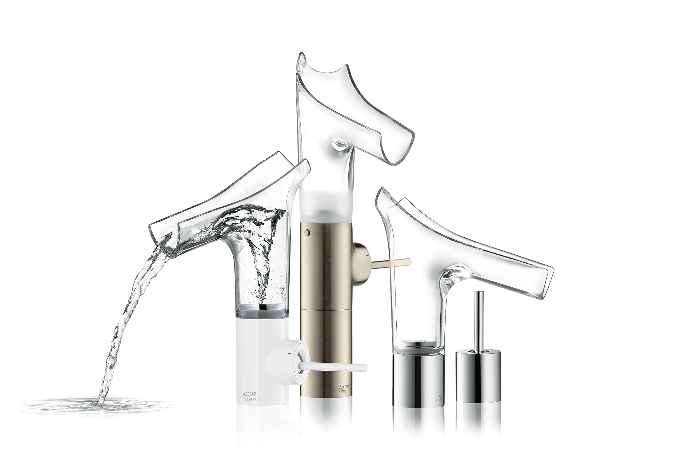 Axor Starck V; producent Hansgrohe; foto: http://www.hansgrohe.co.uk