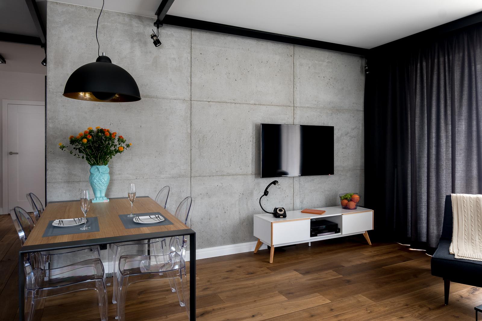 Mieszkanie na Bemowie - salon