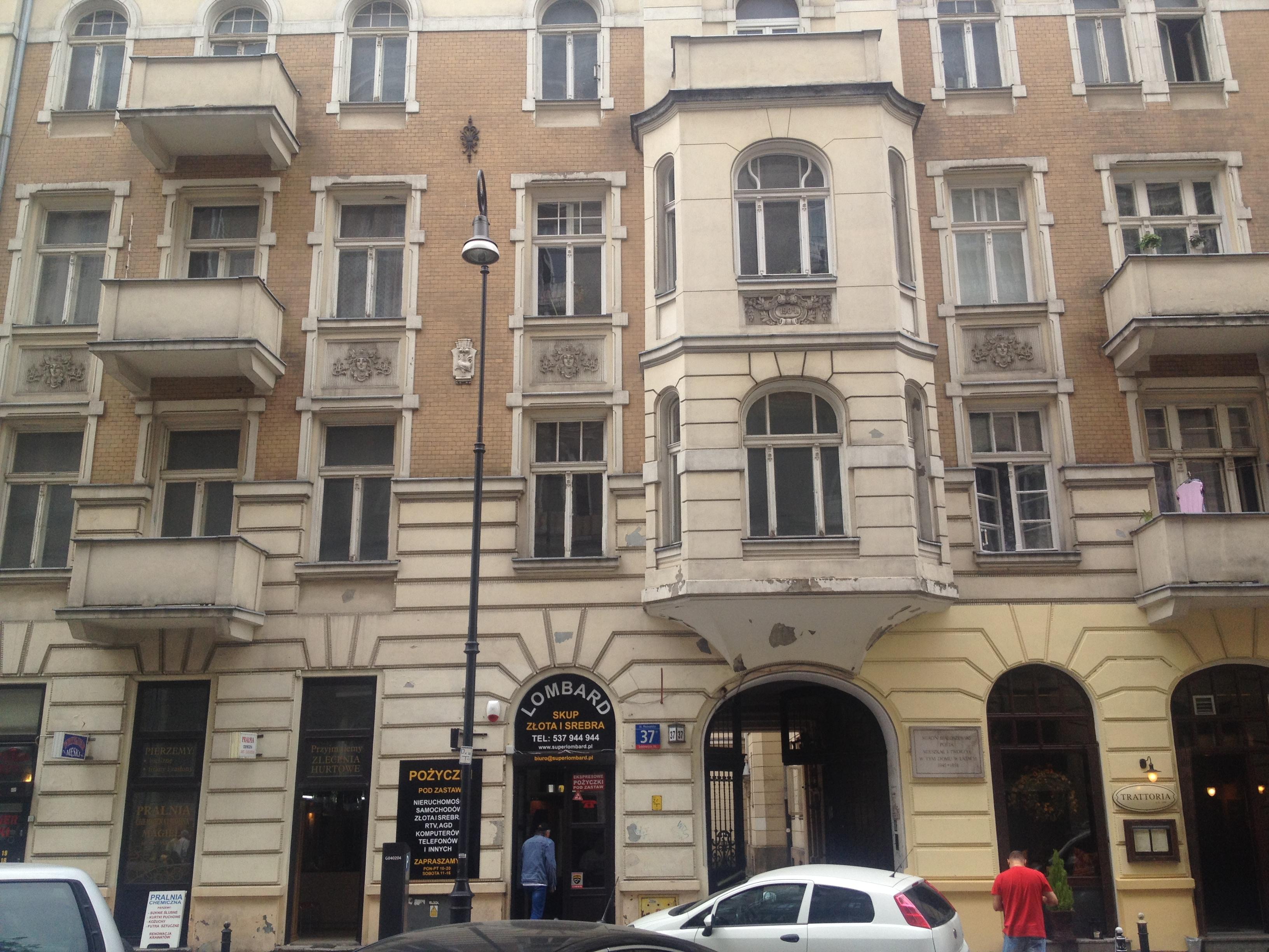 Poznańska 37 - budynek od 1965 wpisany w rejestr zabytków