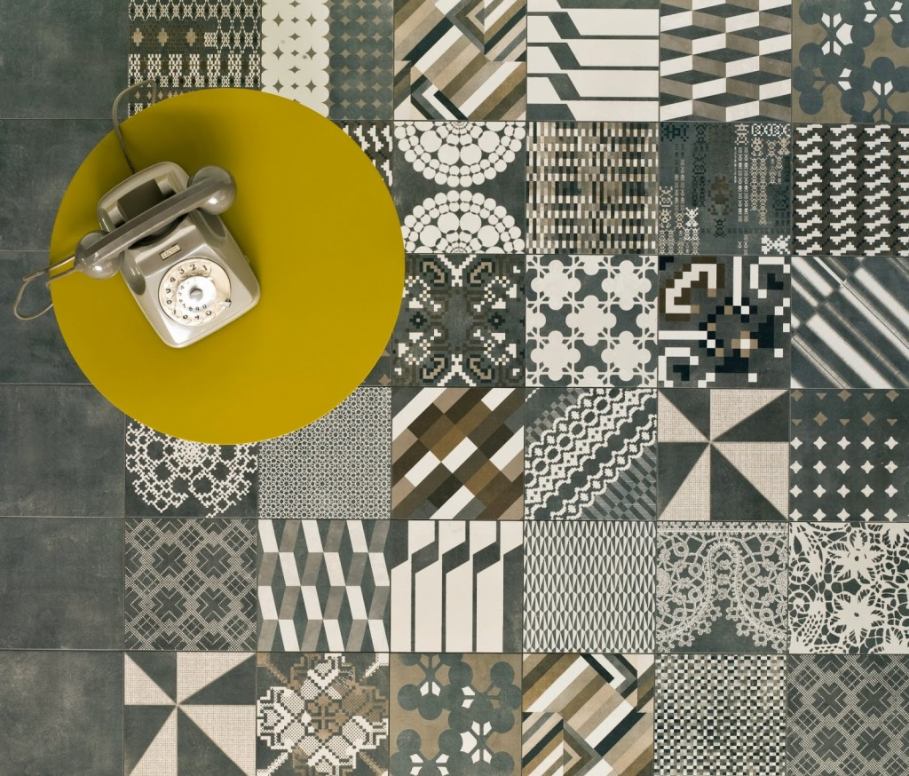 Kolekcja AZULEJ. Patricia Urquiola dla marki MUTINA. Foto: źródło - https://www.pinterest.com