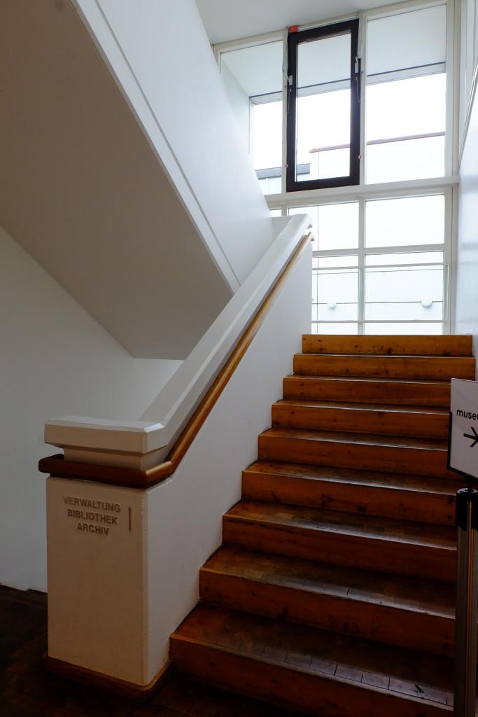 Archiwum Bauhausu- Muzeum Projektowania.Wnetrze budynku.  Foto: Jacek Tryc