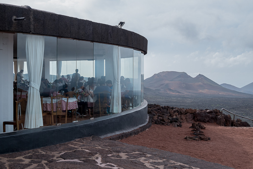 Restauracja EL DIABLO. Proj.César Manrique. TIMANFAYA - HISZPAŃSKI PARK NARODOWY na Lanzarote Foto: Jacek Tryc