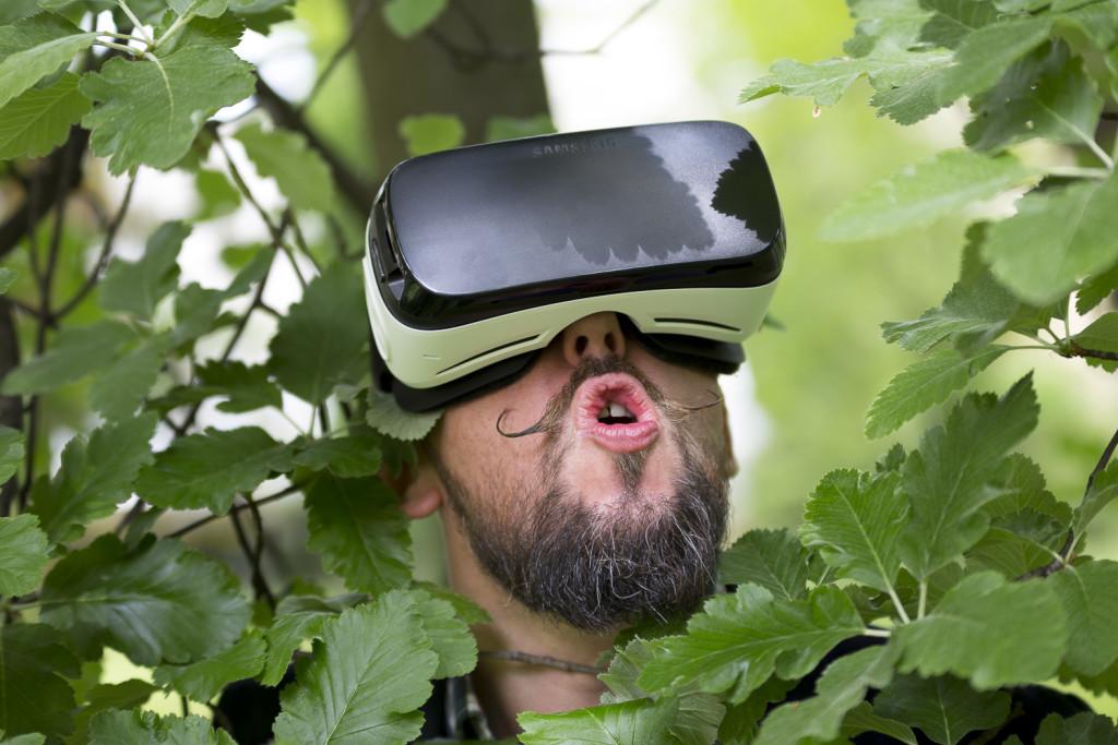 okulary 3d wirtualny świat projekt 3d