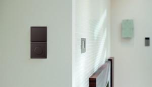 włacznik podwójny, Jung,serii LS 990 w kolorach Les Couleurs® Le Corbusier, projektowanie wnętrz warszwa, architekt, ladne właczniki