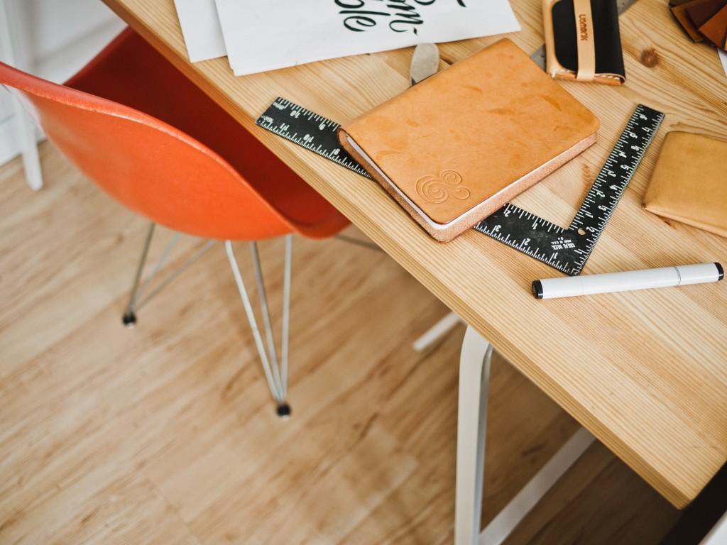 biurko pokój dziecka projekt wnętrz