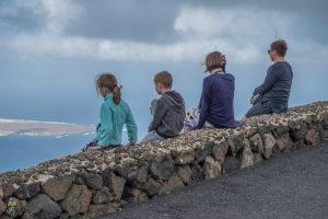travel lanzarote family kids sea