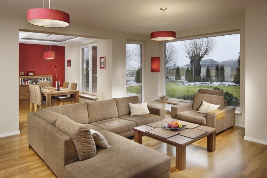 światło w domu duże okna oświetlenie aranżacja wnętrz projektowanie wnętrz Warszawa Wilanów living room sposób na jesienną pluchę jak urządzić dom piękne projekty dobry architekt urządzamy dekorator wnętrz