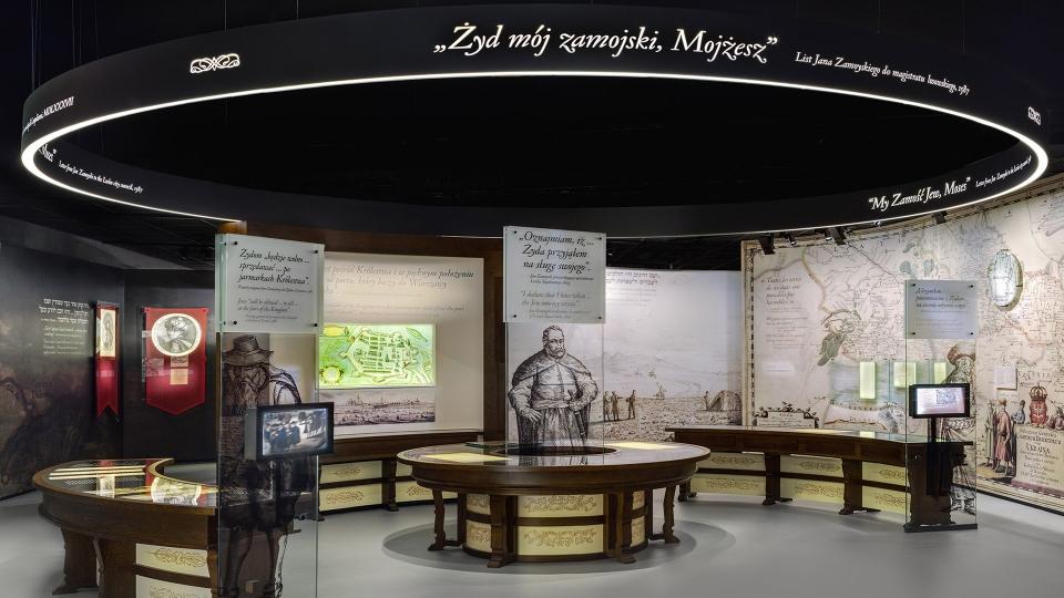 Nizio design International Muzeum Historii Żydów Polskich Polin Muzeum Warszawa ekspozycja wystawa