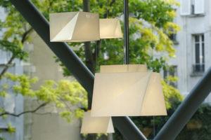 lampy ogrodowelampa biała origami, artemide, lampa do salonu, abażur, ekologiczne lampa, nowoczesna technologia, issey miyake, projektowanie wnętrz, aranżacja wnętrz, jacek tryc, architekt warszawa burakowska żoliborz, japoński styl, lampy w japońskim stylu, recykling