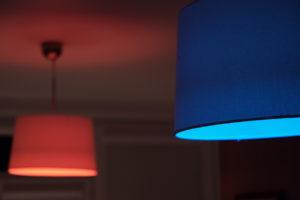 kolorowe światło lampy do pokoju dzieciecego kolorowe żarowki lampa z przyciemniaczem aplikacja do oświetlenia