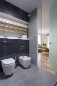 łazienkaszklane drzwi architekt wnętrz projektowanie wnętrz warszawa Jacek Tryc projektowanie szkło drzwi wewnętrzne szkło hartowane
