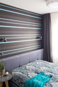 klimatyczna sypialnia inspiracje szukam architekta szukam projektanta mieszkań piękne wnętrza architekt wnętrz Jacek Tryc