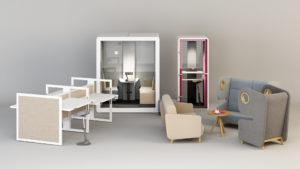 urządzamy biuro nowoczesne meble biurowe biurko z regulowaną wysokością ładne meble do biura architekt wnętrz Jacek Tryc projektowanie wnętrz eleganckie meble do biura Warszawa