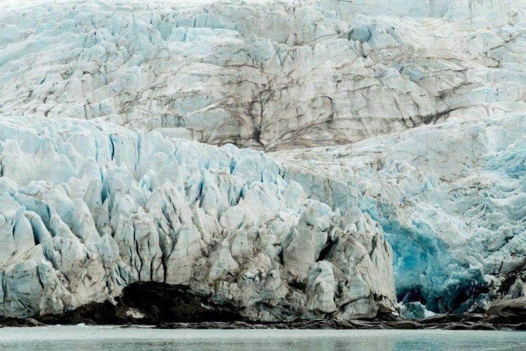 lodowiec Arktyka archiket Jacek Tryc podróże Svalbard