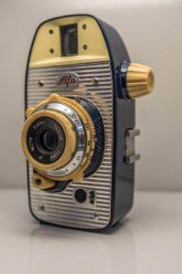 aparat fotograficzny stary wystawa wzornictwa polskiego