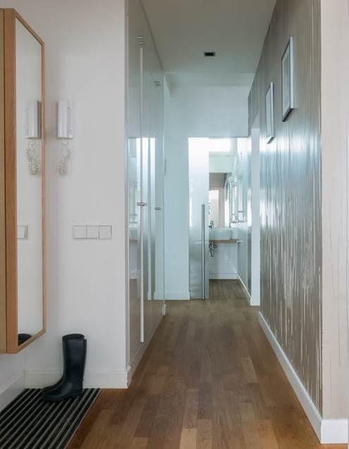 czysty dom wycieraczka korytarz projekt mieszkania pracownia architektoniczna Jacek Tryc wnętrza