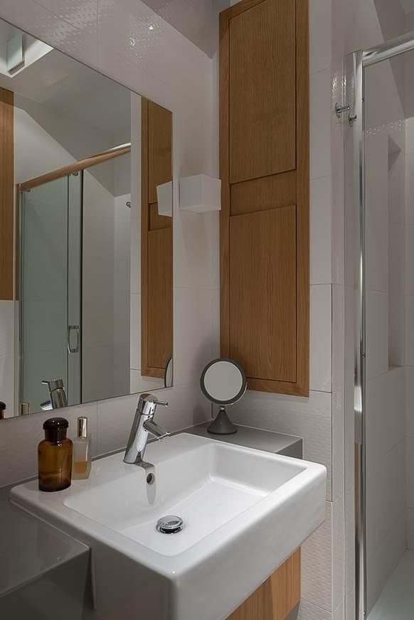 aranżacja małej łazienki projekt wnętrz Jacek Tryc architekt