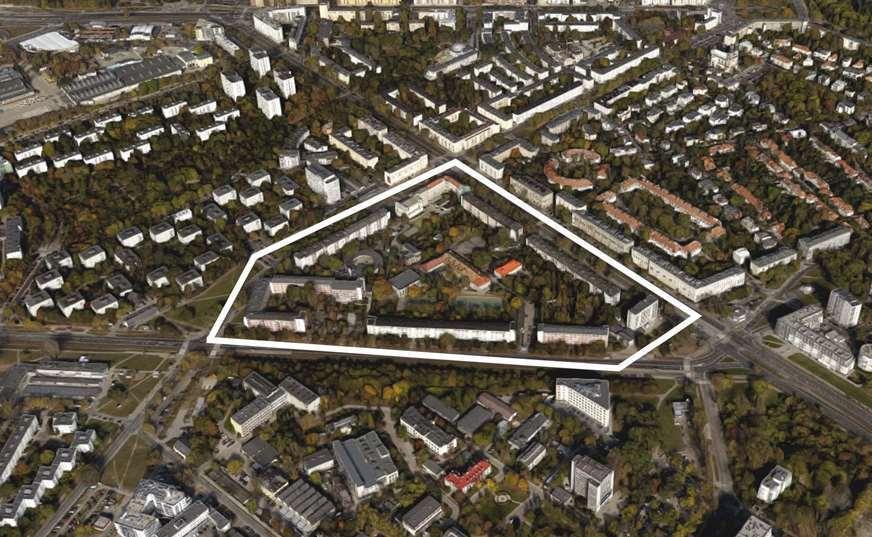 architekt z Żoliborza układ urbanistyczny osiedle Serek Żoliborski architekt wnętrz Warszawa Jacek Tryc