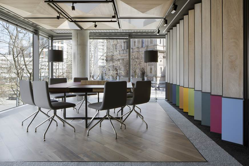 Kronospan salon Jacek Tryc architekt wnętrz relacja z otwarcia salonu