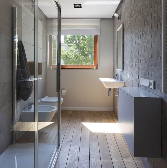 szara łazienka projektowanie domów aranżacja wnętrz pod klucz luksusowe wnętrza