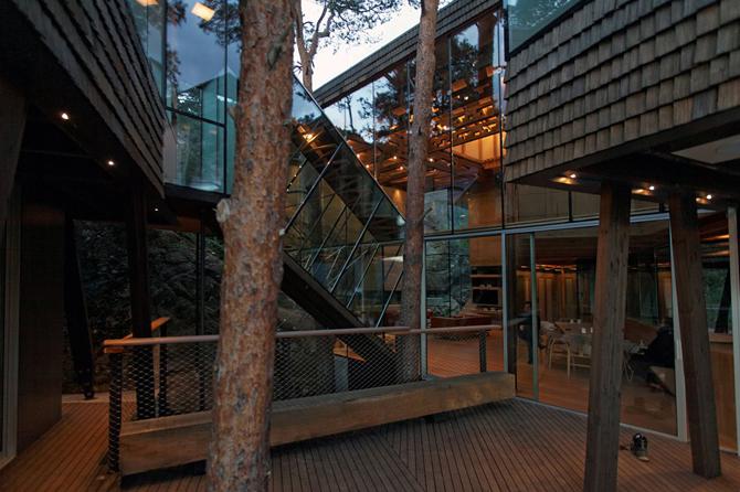 projektowanie zrównoważone projekt w zgodzie ze środowiskiem projektowanie integralne hotel w Norwegii ekologiczne projekty hotel Norwegia architektura norweska