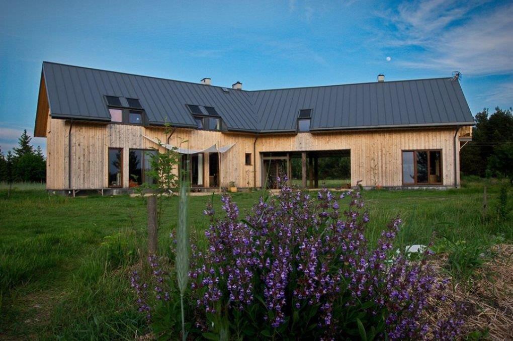 dom ekologiczny budownictwo naturalne architektura aranżacja projektowanie