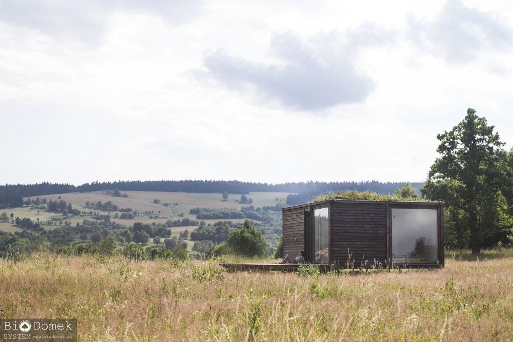 budownictwo naturalne dom ekologiczny budujemy dom architekt dom z drewna nowoczesna architektura aranżacja wnętrz