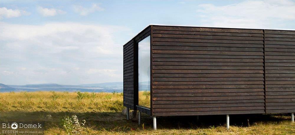 dom ekologiczny dom naturalny budownictwo naturalne dom z drewna i szkła biodomek architekt warszawa aranżacja wnętrz