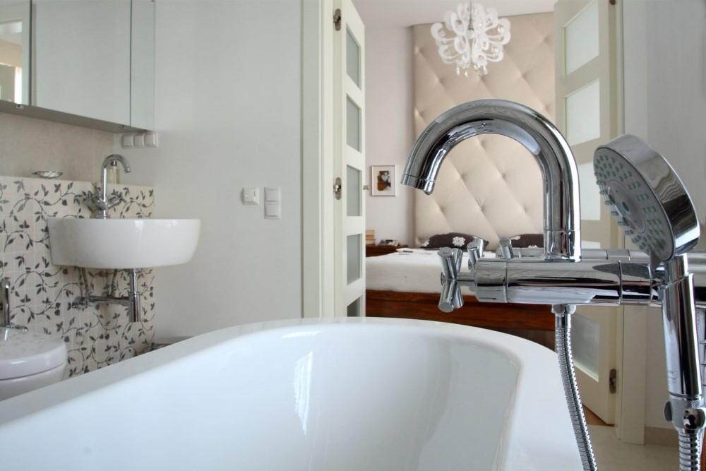 elegancka łazienka projekt wnętrz Jacek Tryc
