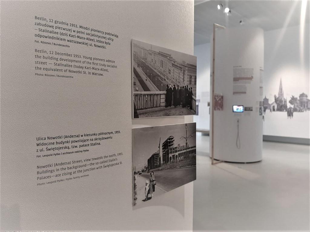 Tu Muranów wystawa Jacek Tryc chłopak z Muranowa